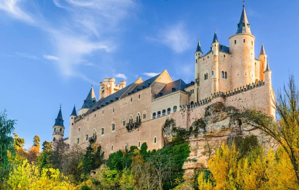 De 10 mooiste kastelen van Spanje